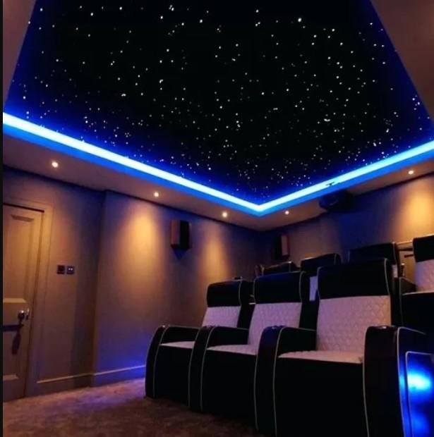 Натяжные потолки звездное небо фото Александра потолок